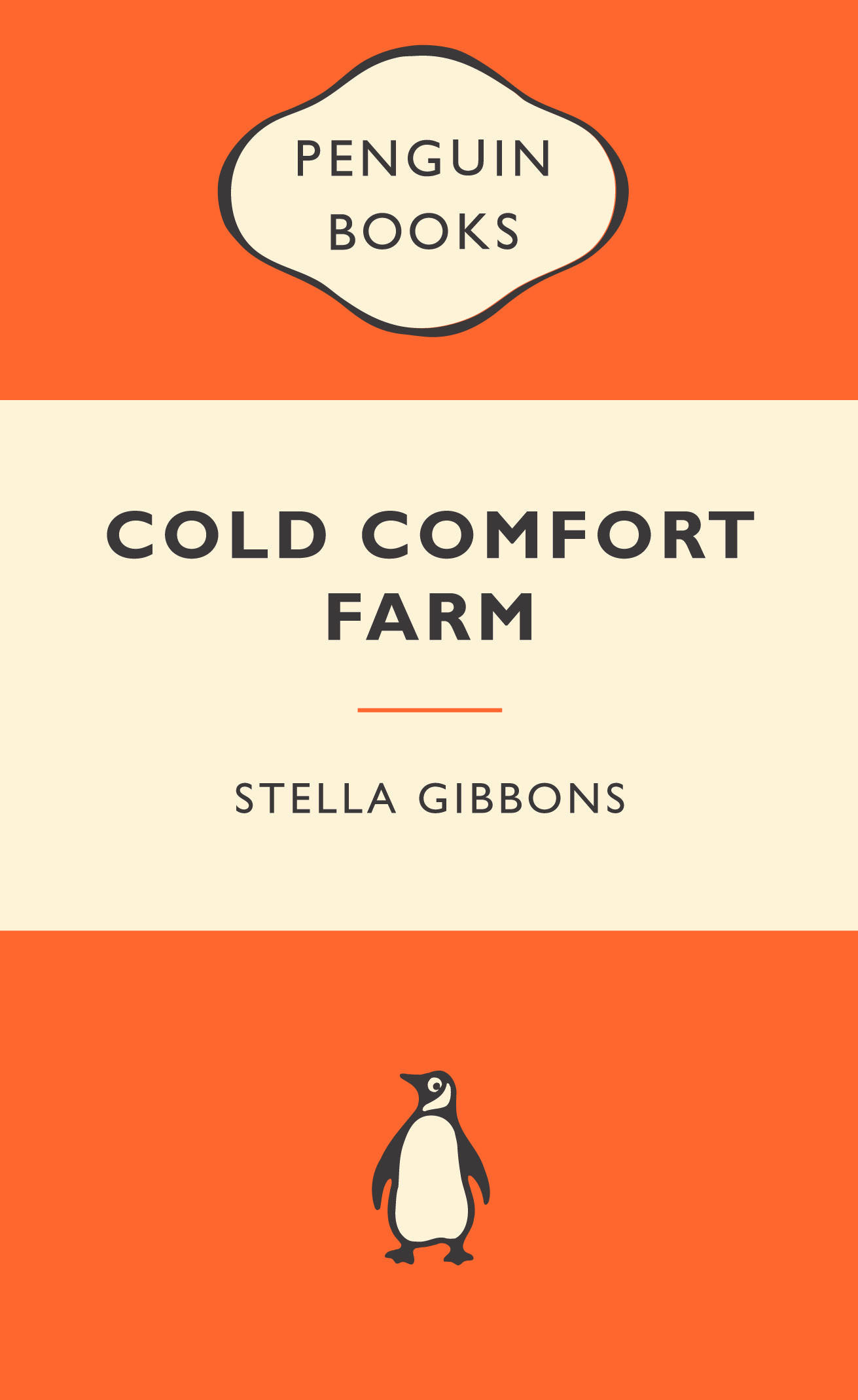 57. Cold Comfort Farm by Stella Gibbons (1932)
