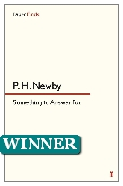 1969 Winner - Something to Answer For by P. H. Newby (Published by Faber & Faber)