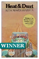1975 Winner - Heat and Dust by Ruth Prawer Jhabvala (Published by John Murray)
