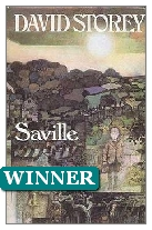 1976 Winner - Saville by David Storey (Published by Jonathan Cape)