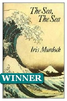 1978 Winner - The Sea, the Sea by Iris Murdoch (Published by Chatto & Windus)