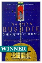 1981 Winner - Midnight's Children by Salman Rushdie (Published by Jonathan Cape)