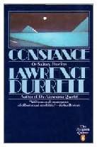 1982 - Constance or Solitary Practices by Lawrence Durrell (Published by Faber & Faber)