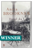 1984 Winner - Hotel du Lac by Anita Brookner (Published by Jonathan Cape)