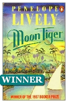 1987 Winner - Moon Tiger by Penelope Lively (Published by Deutsch)
