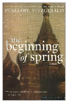 1988 - The Beginning of Spring by Penelope Fitzgerald (Published by Collins)