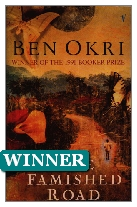 1991 Winner - The Famished Road by Ben Okri (Published by Jonathan Cape)
