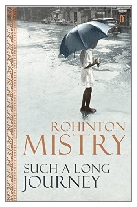 1991 - Such a Long Journey by Rohinton Mistry (Published by Faber & Faber)