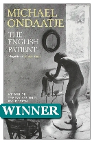 1992 Winner - The English Patient by Michael Ondaatje (Published by Bloomsbury)