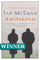 1998 Winner - Amsterdam by Ian McEwan (Published by Jonathan Cape)