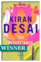 2006 Winner - The Inheritance of Loss by Kiran Desai (Published by Hamish Hamilton)