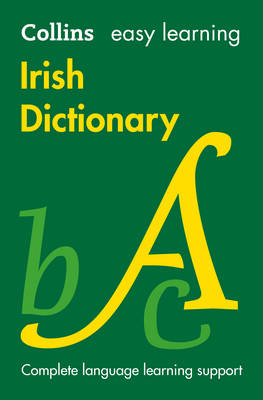 Collins Dictionaries - Collins Easy Learning Irish – Easy Learning Irish Dictionary - 9780008150303 - V9780008150303