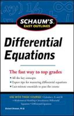 Bronson, Richard - Schaum's Easy Outline of Differential Equations - 9780071779814 - V9780071779814