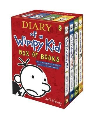Kinney, Jeff - Diary of a Wimpy Kid Box of Books - 9780141341415 - V9780141341415