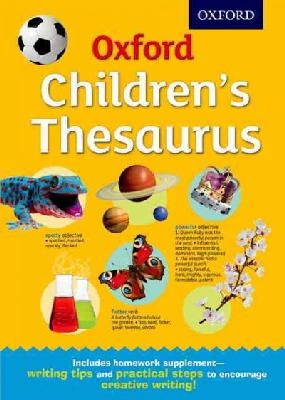 Oxford Dictionaries - Oxford Children's Thesaurus - 9780192744029 - V9780192744029