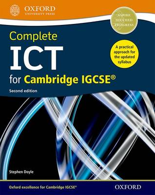 Doyle, Stephen - Complete ICT for Cambridge IGCSE - 9780198399476 - V9780198399476