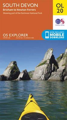 Ordnance Survey - South Devon, Brixham to Newton Ferrers (OS Explorer Map) - 9780319242599 - V9780319242599
