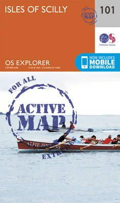 ORDNANCE SURVEY - Isles of Scilly (OS Explorer Active Map) - 9780319469828 - V9780319469828