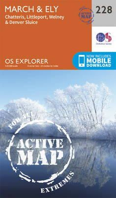 ORDNANCE SURVEY - March and Ely (OS Explorer Active Map) - 9780319471005 - V9780319471005