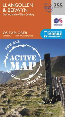 ORDNANCE SURVEY - Llangollen and Berwyn (OS Explorer Active Map) - 9780319471272 - V9780319471272
