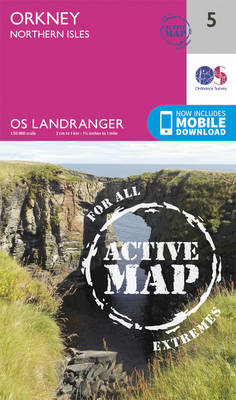 Ordnance Survey - Orkney - Northern Isles (OS Landranger Active Map) - 9780319473283 - V9780319473283