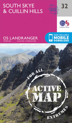 Ordnance Survey - South Skye & Cuillin Hills (OS Landranger Active Map) - 9780319473559 - V9780319473559