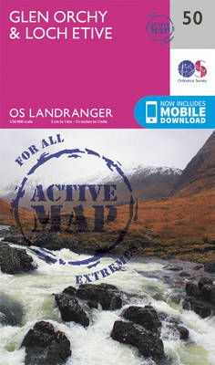 Ordnance Survey - Glen Orchy & Loch Etive (OS Landranger Active Map) - 9780319473733 - V9780319473733