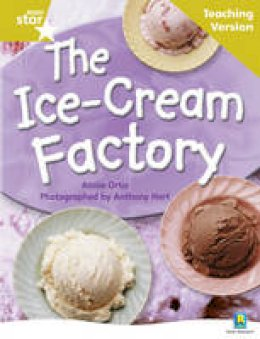 - Rigby Star Non-Fiction Guided Reading Gold Level: The Ice-Cream Factory Teaching Version - 9780433046653 - V9780433046653