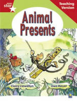 - Rigby Star Guided Reading Red Level: Animal Presents Teaching Version - 9780433048480 - V9780433048480