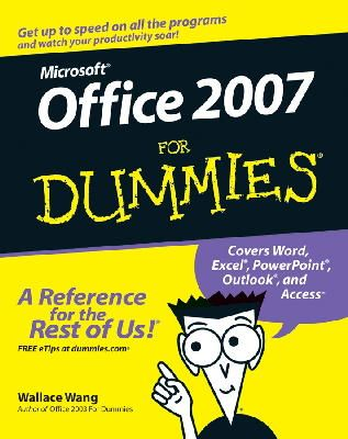 Wallace Wang - Microsoft Office 2007 For Dummies - 9780470009239 - V9780470009239
