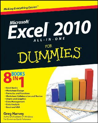 Harvey, Greg - Excel 2010 All-in-One For Dummies - 9780470489598 - V9780470489598