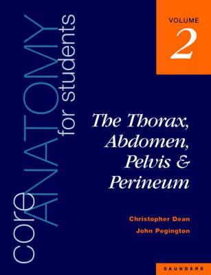Dean, Christopher, Dean - Core Anatomy for Students Vol 2 - 9780702020414 - V9780702020414