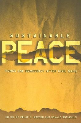 - Sustainable Peace - 9780801489747 - V9780801489747