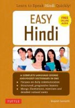 Samarth, Brajesh - Easy Hindi: A Complete Language Course and Pocket Dictionary in One (Companion Online Audio, Dictionary and Manga included) (Easy Language Series) - 9780804843096 - V9780804843096
