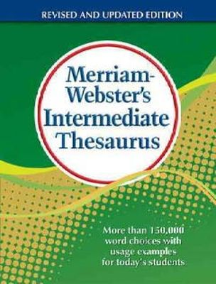 Merriam-Webster Inc. - MW Intermediate Thesaurus - 9780877791768 - V9780877791768