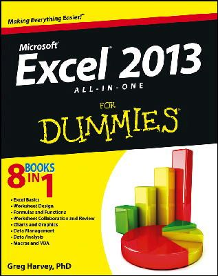Harvey, Greg - Excel 2013 All-in-One For Dummies - 9781118510100 - V9781118510100