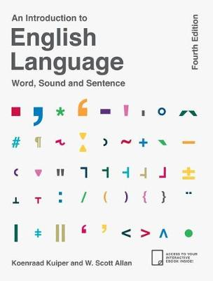 Kuiper, Koenraad, Allan, W. Scott - An Introduction to English Language - 9781137496874 - V9781137496874