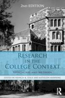 - Research in the College Context: Approaches and Methods - 9781138824782 - V9781138824782