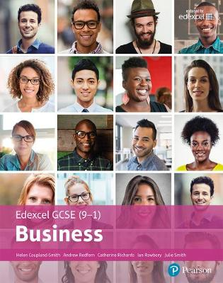 Coupland-Smith, Ms Helen, Richards, Ms Cathy, Redfern, Mr Andrew, Smith, Mrs Julie, Rowbory, Mr Ian - Edexcel GCSE (9-1) Business Student Book - 9781292179841 - V9781292179841