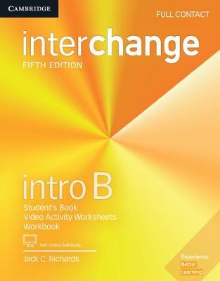 Richards, Jack C. - Interchange Intro B Full Contact with Online Self-Study - 9781316623879 - V9781316623879