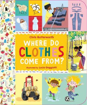 Butterworth, Christine - Where Do Clothes Come from? - 9781406347340 - V9781406347340
