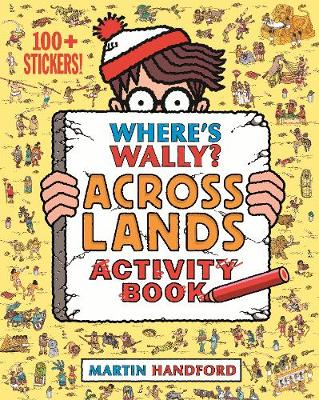 Handford, Martin - Where's Wally? Across Lands: Activity Book - 9781406368192 - 9781406368192