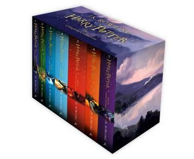 Rowling, J.K - Harry Potter Boxed Set: The Complete Collection (Children's Paperback) - 9781408856772 - V9781408856772