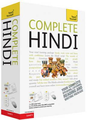 Snell, Rupert; Weightman, Simon - Teach Yourself Complete Hindi - 9781444106831 - V9781444106831