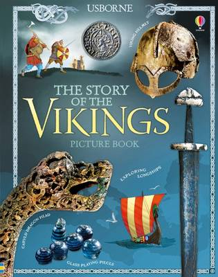 Megan Cullis - The Story of the Vikings Picture Book - 9781474920995 - V9781474920995