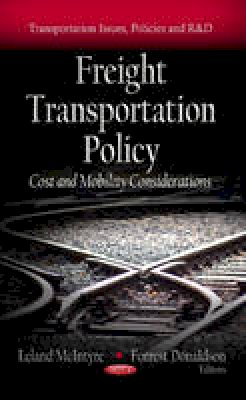 - Freight Transportation Policy - 9781619424180 - V9781619424180
