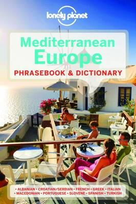 Lonely Planet - Mediterranean Europe Phrasebook - 9781741790061 - V9781741790061