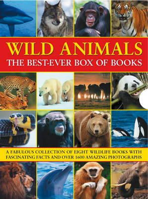 Taylor, Barbara, Green, Dr. Jen, Bright, Michael, Klevansky, Rhonda, Kerrod, Robin, Jackson, Tom - WILD ANIMALS THE BEST-EVER BOX OF BOOKS (8 Books in a Box) - 9781843227984 - V9781843227984