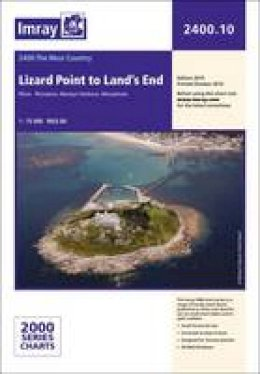 Imray - Imray Chart: Lizard Point to Land's End (2000 Series) - 9781846237287 - V9781846237287