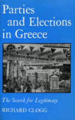 Clogg, Richard - Parties and Elections in Greece - 9781850650409 - V9781850650409